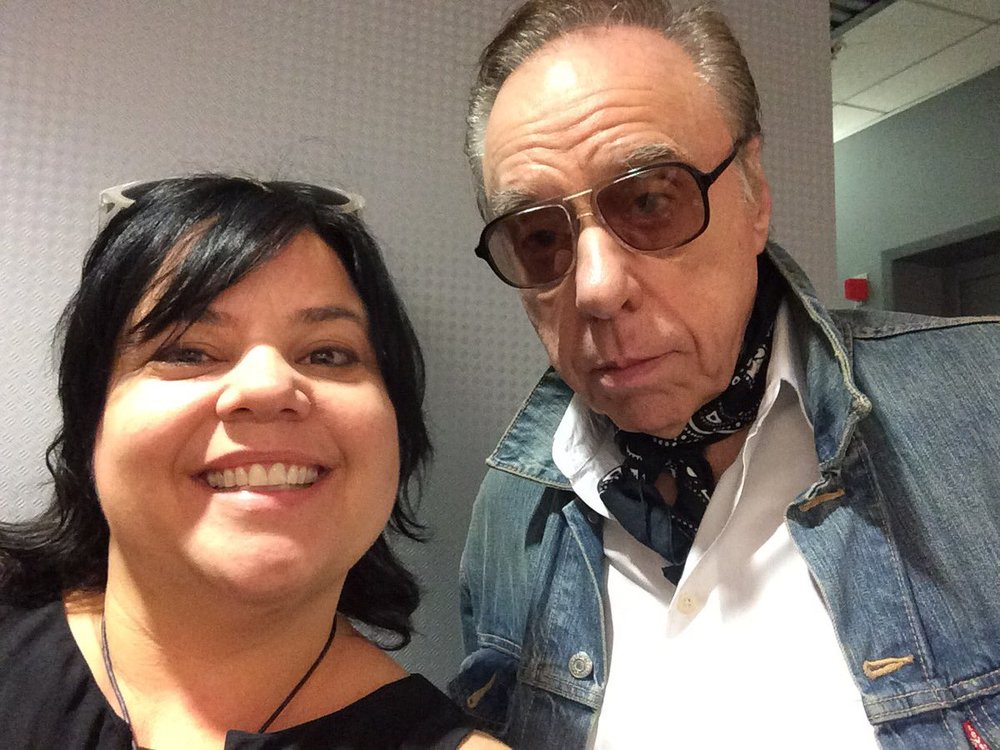 "Talking with Peter Bogdanovich on Mark Thompson's ""The Edge"" podcast"