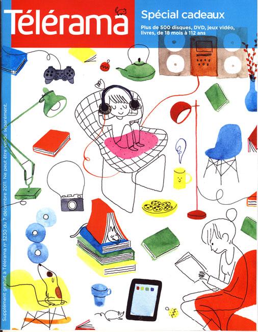 Cover for Télérama, supplément Noël #3230, November 2011
