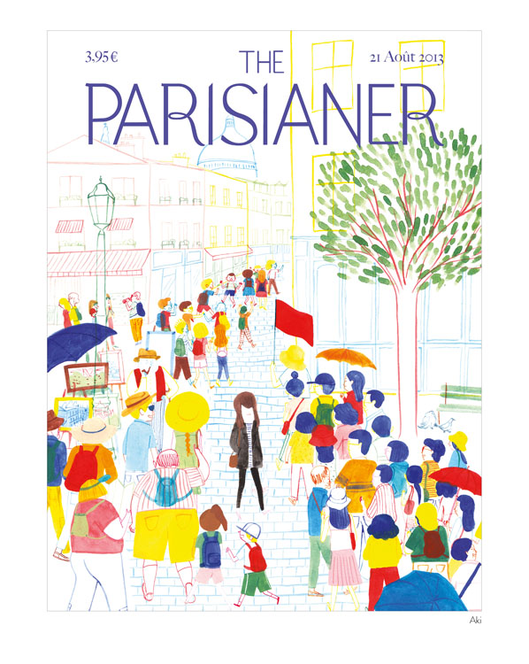 Illustration for The Parisianer, published by 10/18 editions on November 2014