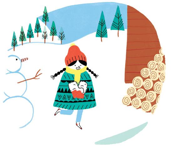 Les Bottes de Yéti, a story by Juliette Vallery published in J'apprends à lire February 2014