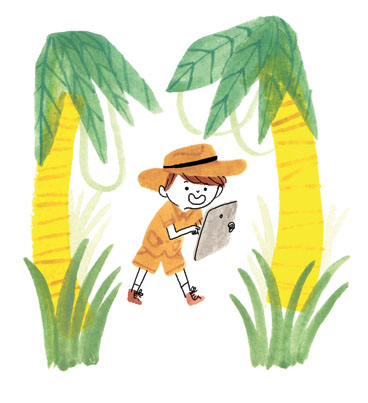 Illustrations for Air For Kids Mc Donald's, July-August 2014
