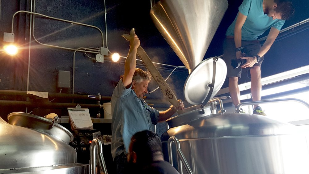 Jerry takes a swing at brewing on a larger scale. He obviously has mixed feelings!