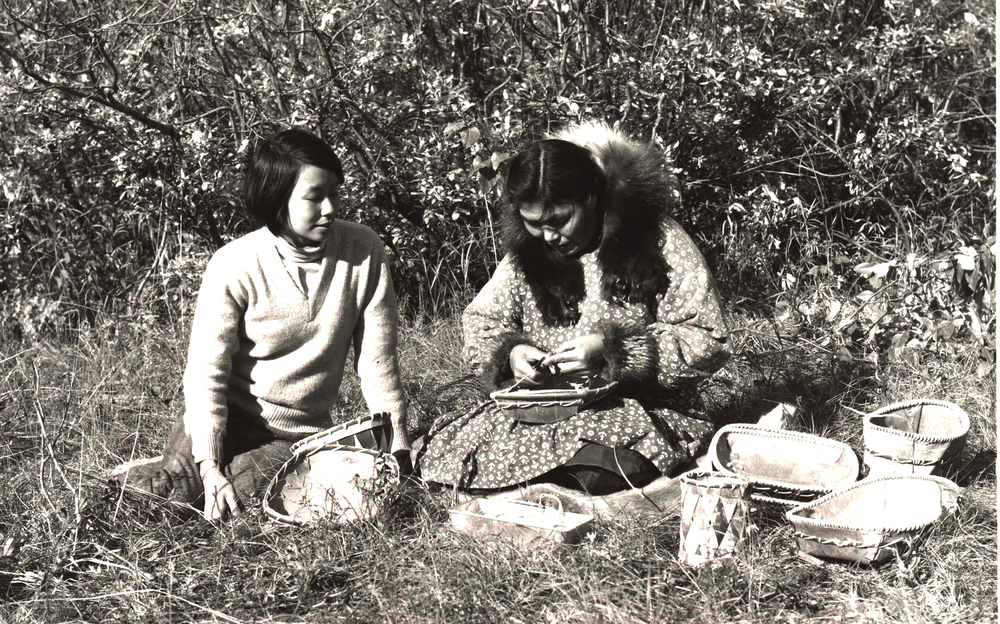 Wanni Anderson and Clara Lee, Onion Portage, 1967