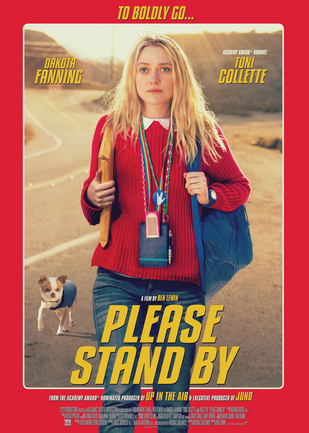Please Stand By — No... Dakota Fanning