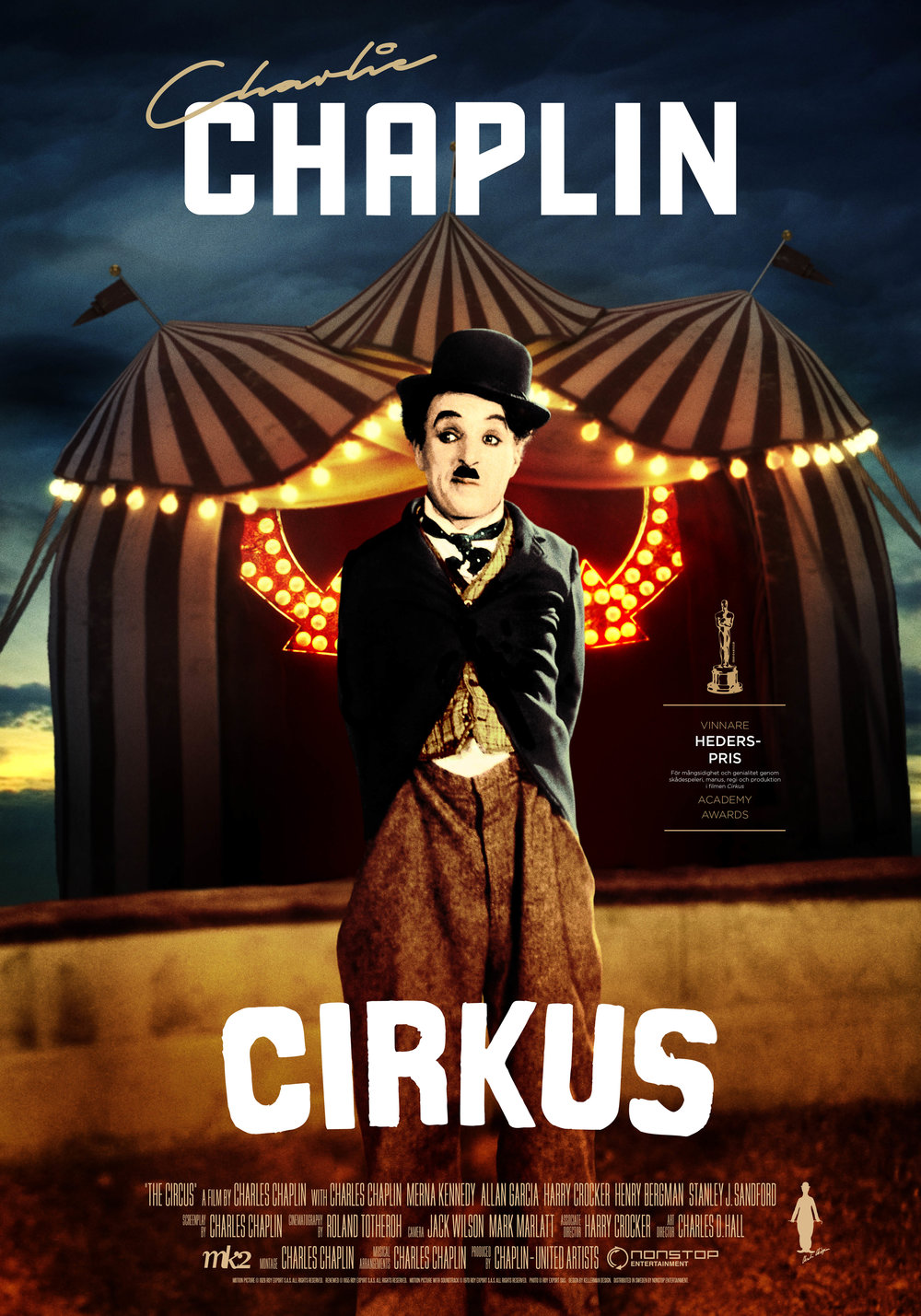 The Circus (1928) onesheet 70×100 cm screen swe.jpg