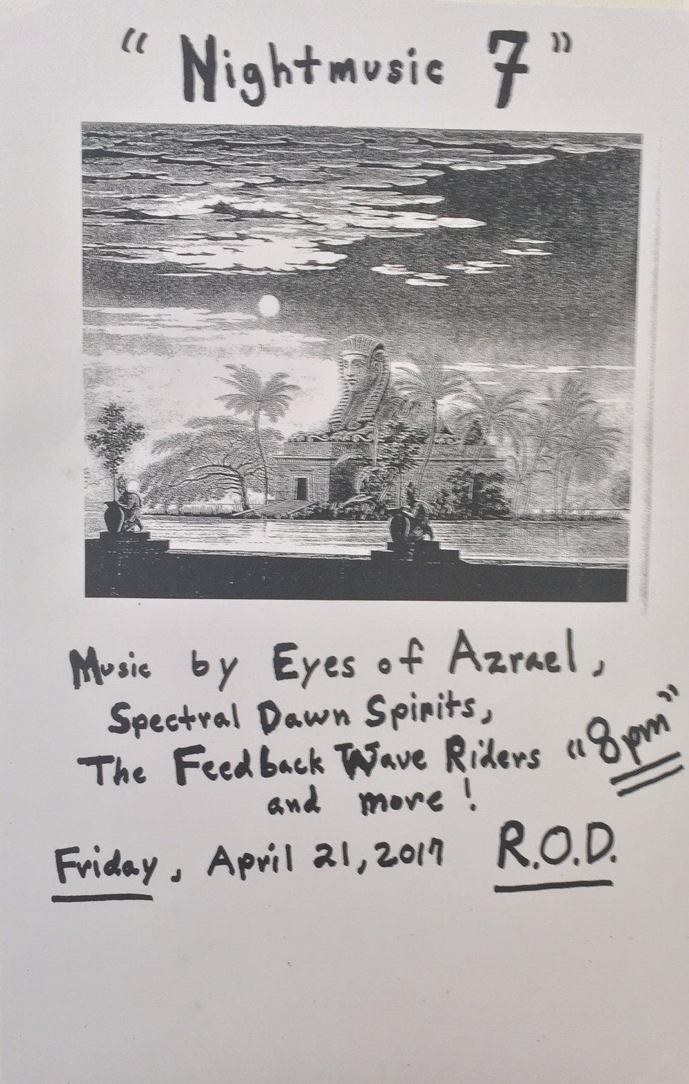 CalArts ROD, April 21, 2017