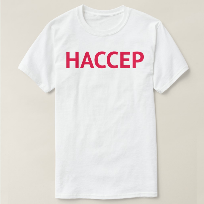 HACCEP shirt front