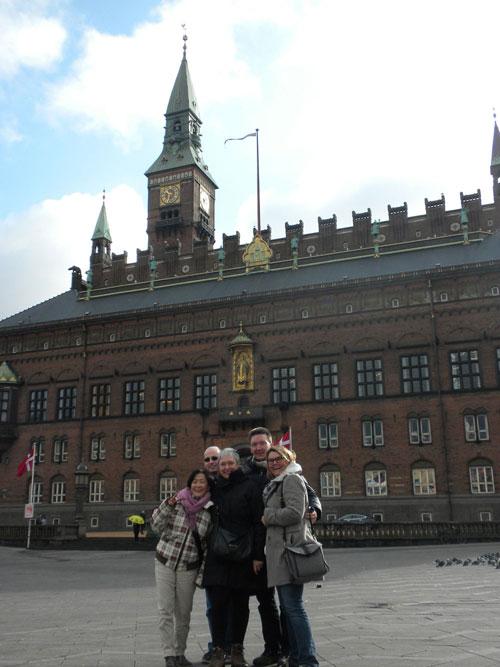 Unsere Reisende nach Kopenhagen