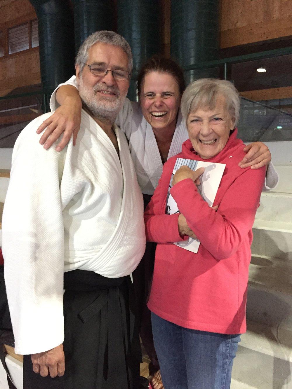 Christiane mit Volker & Steffi