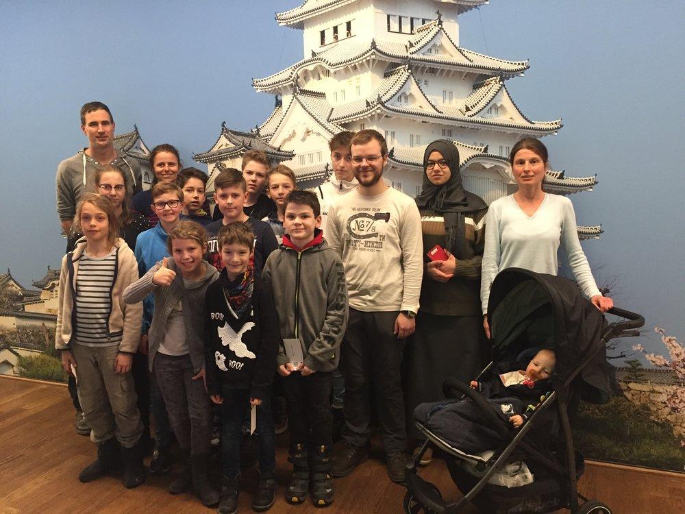 Besuch der Kinder & Jugendlichen
