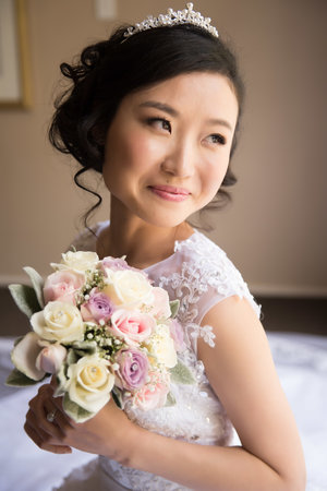 Well lit photo of bride holding her bouquet.jpg