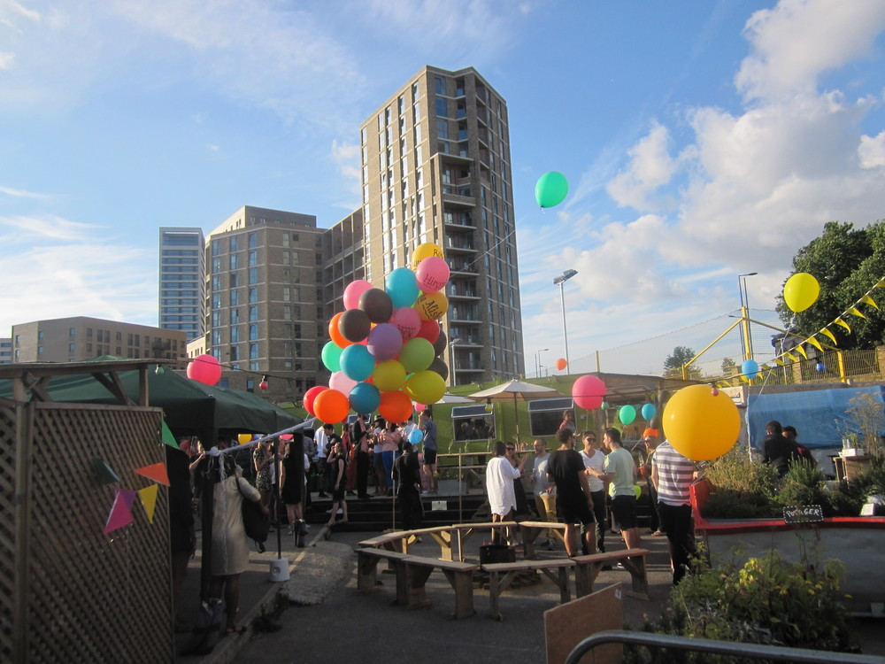 """I'd thoroughly recommend the Skip Garden as an event venue – either party, workshop, day out, etc. The team are great, the space engaging – a little oasis in King's Cross. There's a real sense of community and participation – things which are very important to us as a business too."" Employee, Wolff Olins"