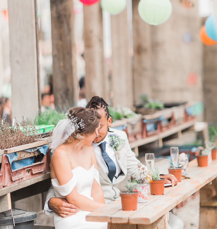 Wedding breakfast in the Skip Garden.jpg