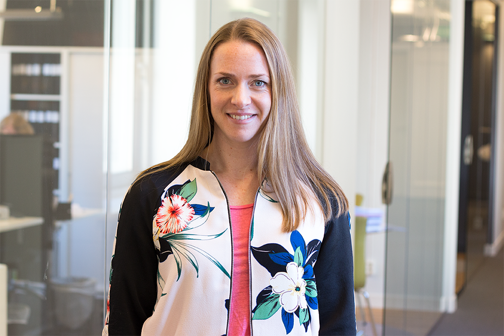 Johanna Nielsen är ny projektledare på Intermezzon