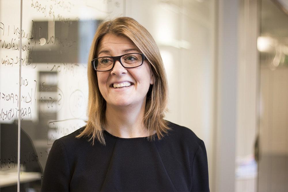 Katrin Johansson är ny grafisk designer på Intermezzon