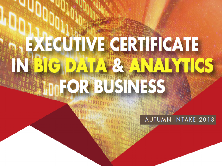 Centennial College X RADICA: Executive Certificate in Big Data & Analytics for Business