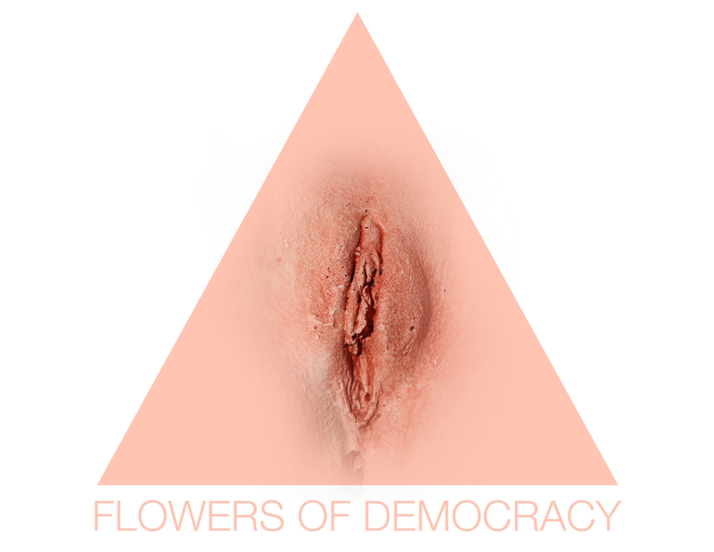 Maria Kulikovska's 'Flowers of Democracy' Project.