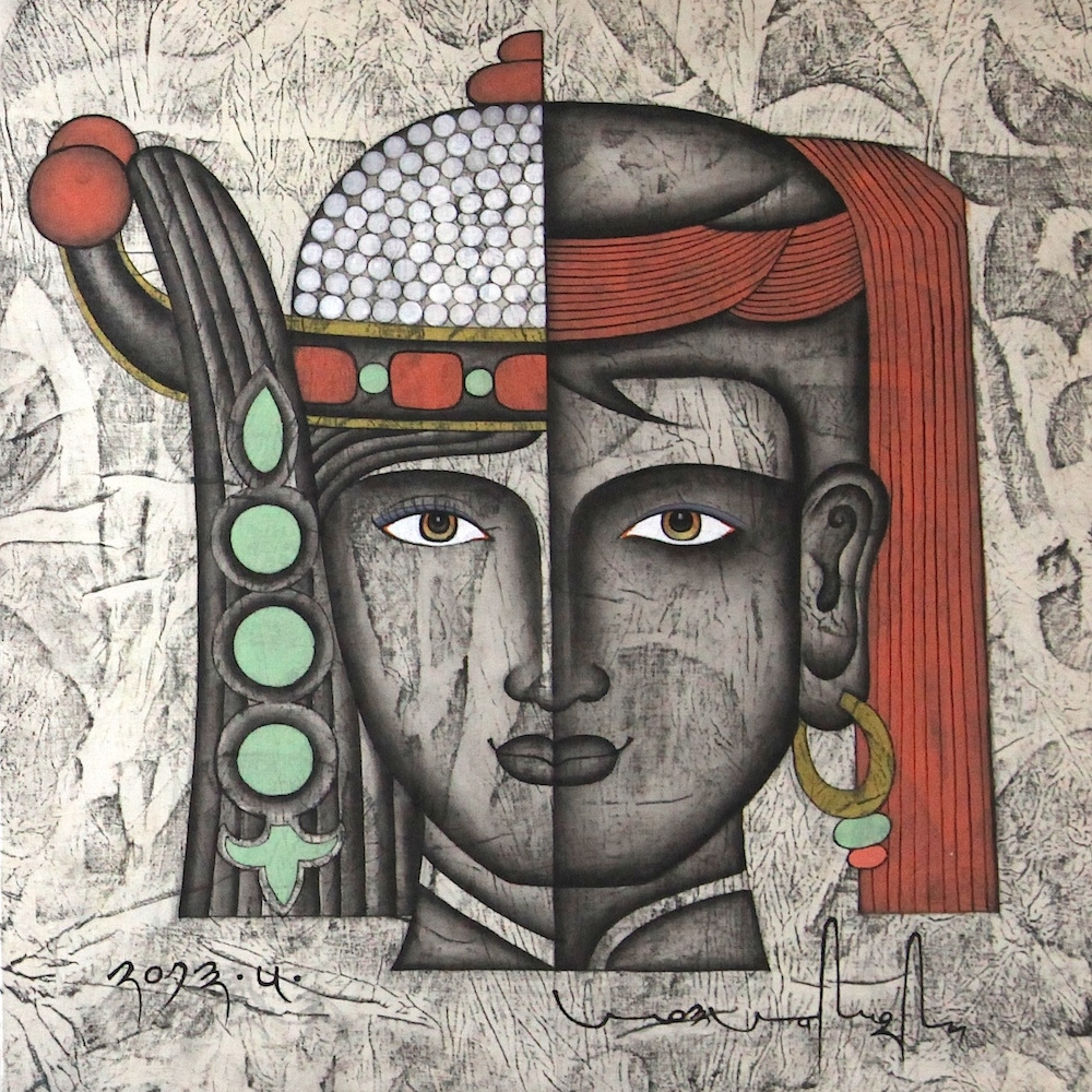 ANG SANG   TIBET ANG SANG'S PAINTINGS SHOW UNINTENTIONAL EMOTION. HIS WORK HOVERS SOMEWHERE BETWEEN ANCIENT TIBETAN TRADITIONAL ART AND WESTERN AVANT-GARDE ART IN AN ATTEMPT TO ...READ MORE