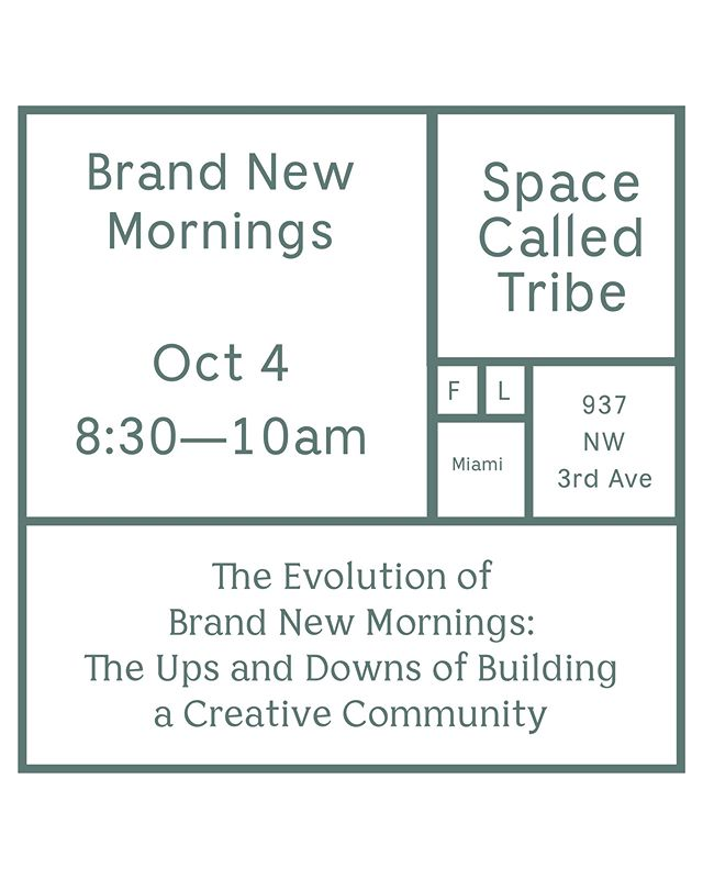 Annnnnd we're back! For the remainder of 2018, @brandnewmornings is back with a mini-series in the old format. To kick things off, @nadiapayan will be having a candid, open talk about the behind the scenes of creative partnerships, building a creative community and the ebbs and flows of running a passion project as an entrepreneur. ⠀⠀⠀⠀⠀⠀⠀⠀⠀ We are being hosted by the wonderful folx over at @spacecalledtribe. Can't wait to see you all very soon! Link to get your free ticket in bio. See you there 💛⚡️☀️ #brandnewmornings