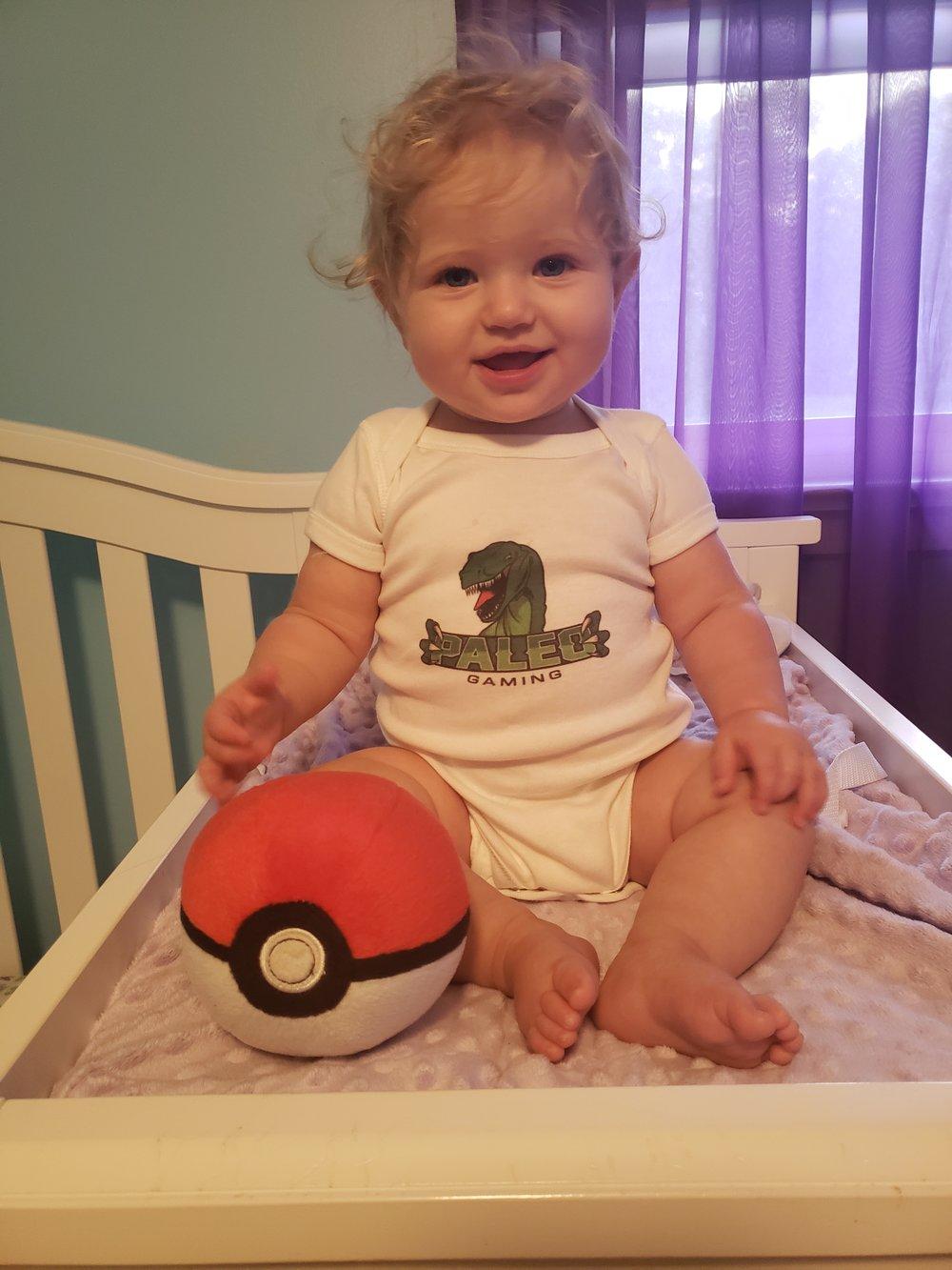 Cassie's First Pokeball