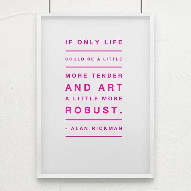 Agreed 💯 #AlanRickman