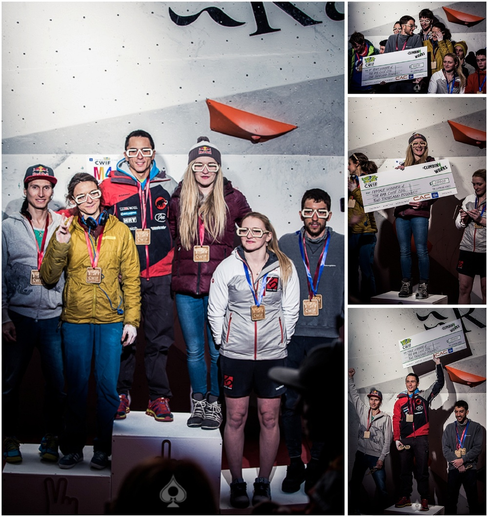 The Winners of CWIF 2016