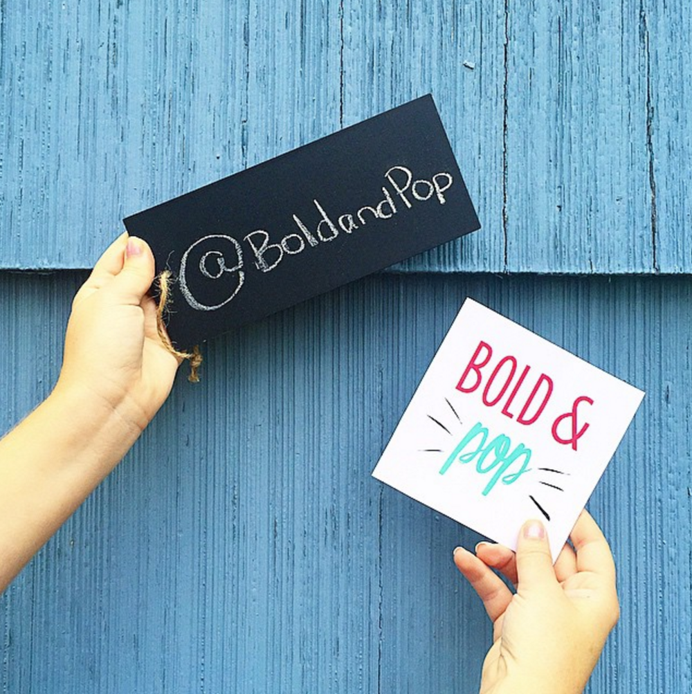 Bold & Pop :: Spring into Instagram