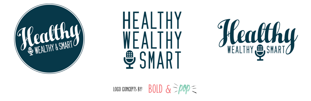 Bold & Pop : Healthy Wealthy & Smart Branding Project