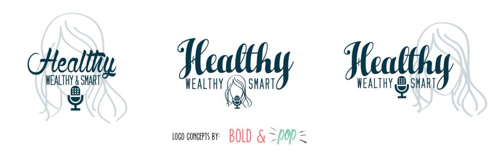 Bold & Pop : Healthy Wealthy & Smart Branding Project
