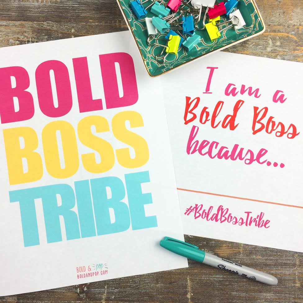 Bold & Pop : #BoldBossTribe :: The Bold & Pop Ladies