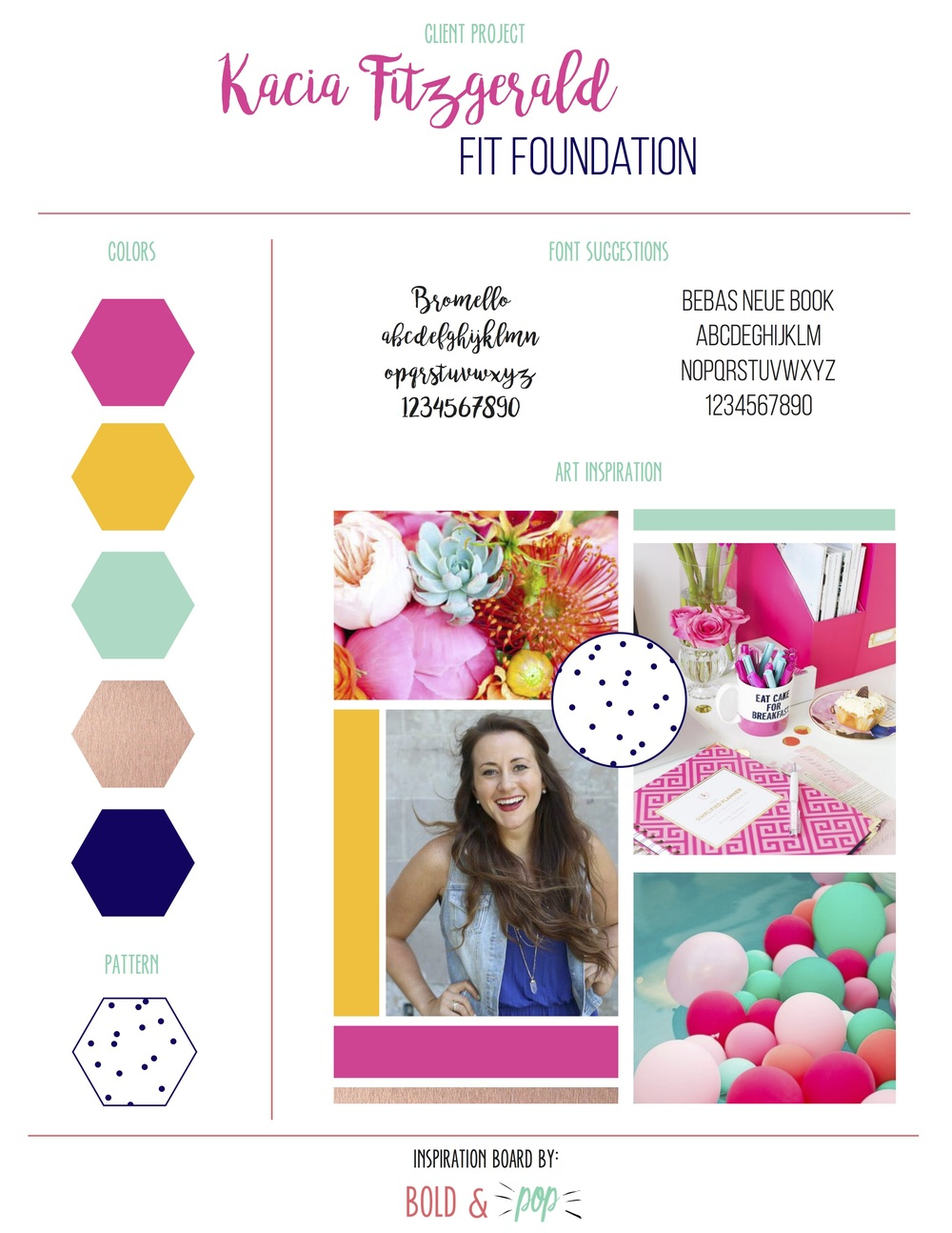 Bold & Pop : Fit Foundation Branding & Website Design