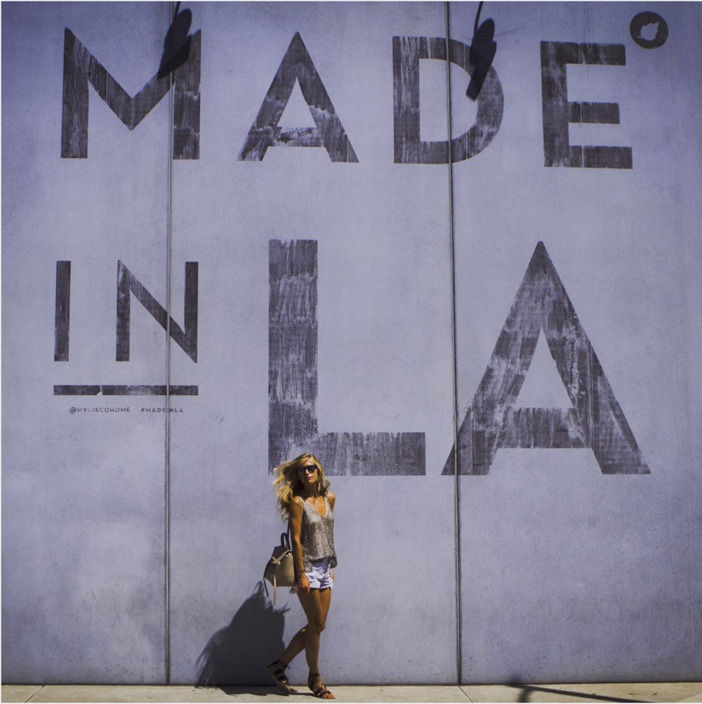 Made in LA Wall