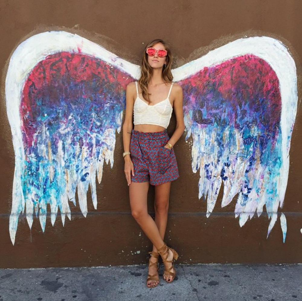 Angel Wing Mural