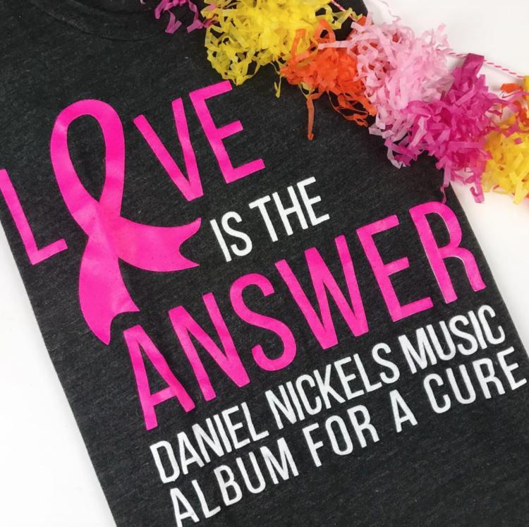 Album for a Cure <br> T-shirt Design