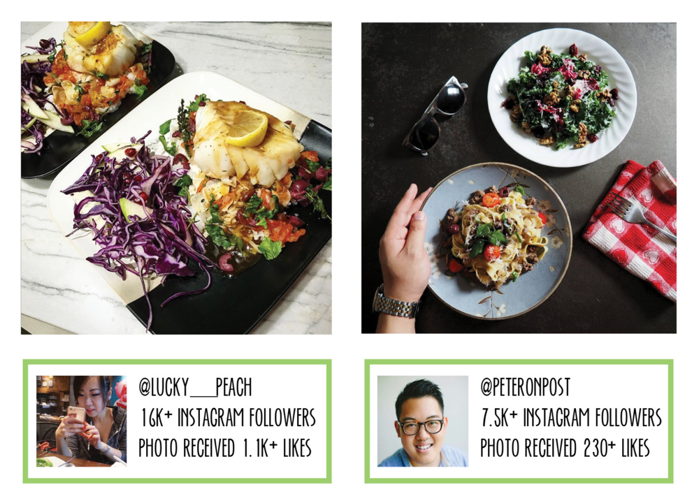 Bold & Pop : Social Media Services Meal Delivery Service Influencer Marketing Case Study