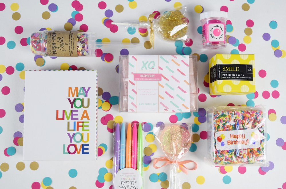 Bold & Pop : Social Media and Brand Styling -- Surprise Gift Co. Instagram Brand Styling