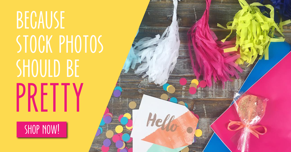 Bold & Pop #ThePopShop : Styled Stock Photos