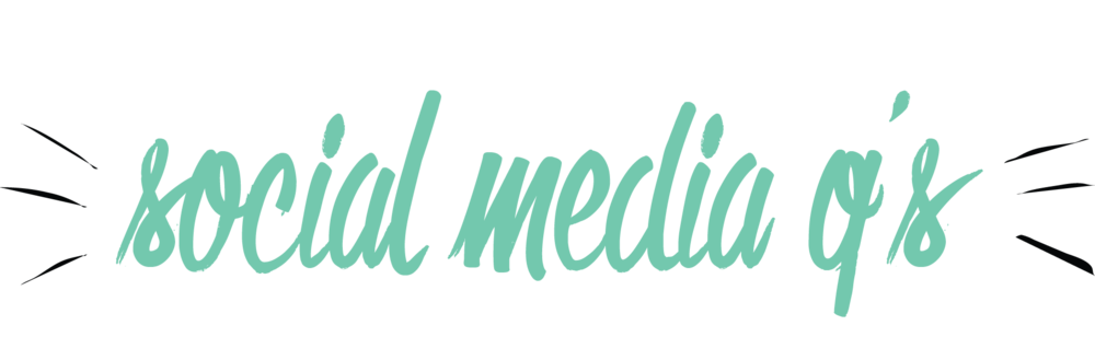 Bold & Pop : Social Media Frequently Asked Questions