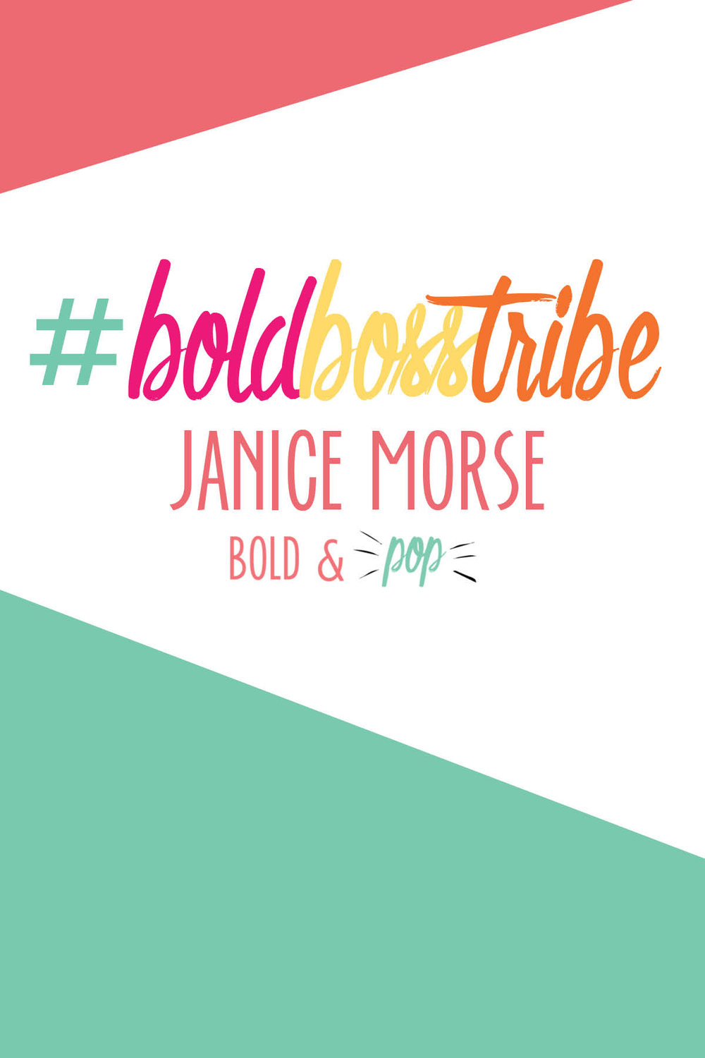 Bold & Pop : #BoldBossTribe Janice Morse of ADC Photography