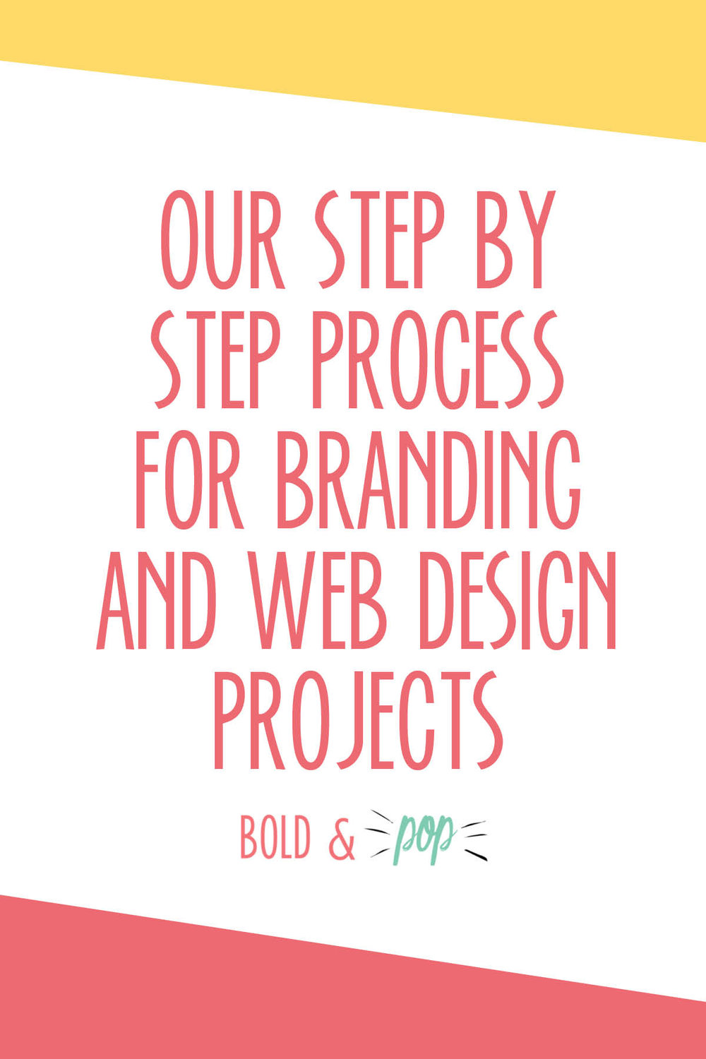 Bold & Pop Branding and Squarespace Website Design Collective : Our Step by Step Process for Branding and Web Design Projects