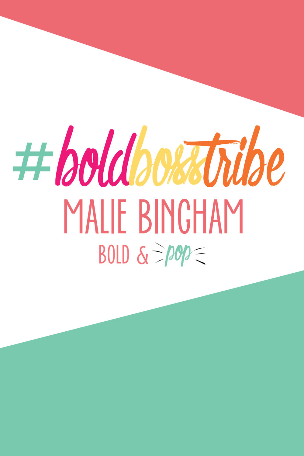 Bold & Pop : #BoldBosstribe Feature with Fashion Designer turned Fashion Career Coach Malie Bingham of Pick Glass