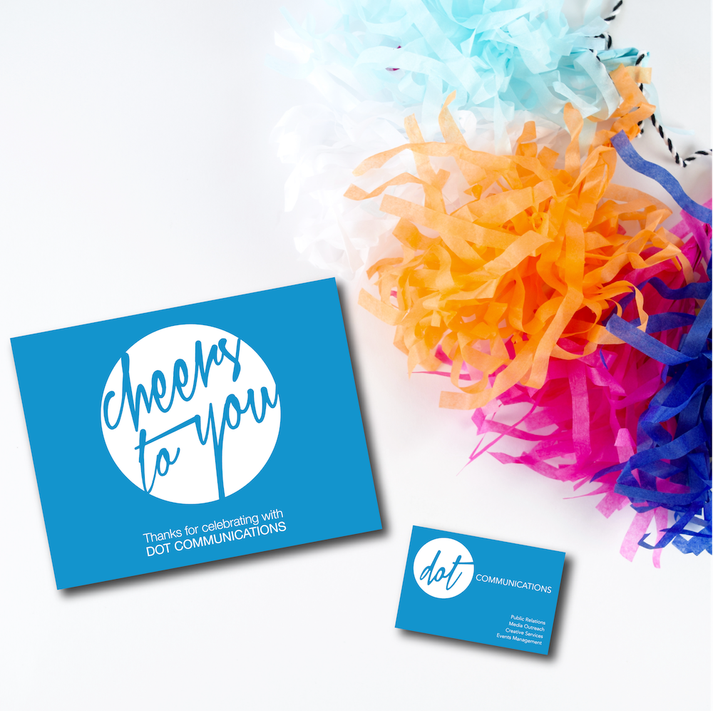 DOT Communications <br> Party Favors & <br> Business Collateral