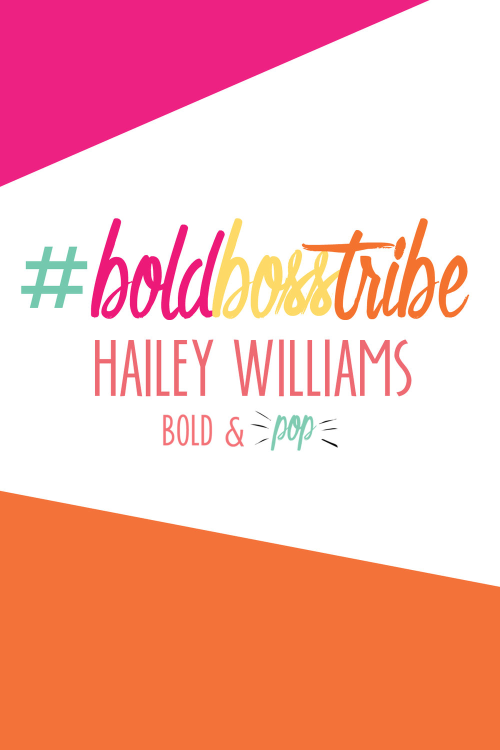 Bold & Pop : #BoldBossTribe Feature with Photographer Hailey Williams
