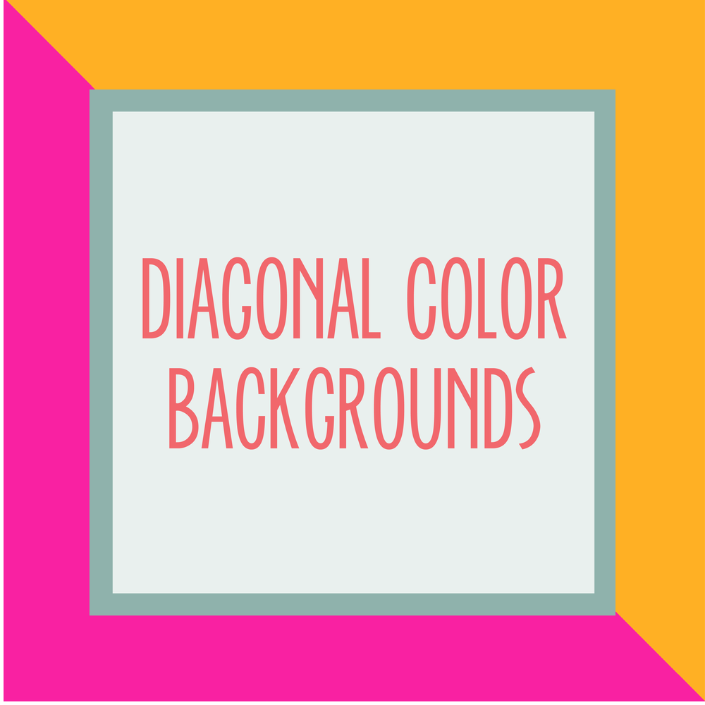 Bold & Pop : Bold Boss Resource Library Diagonal Color Backgrounds