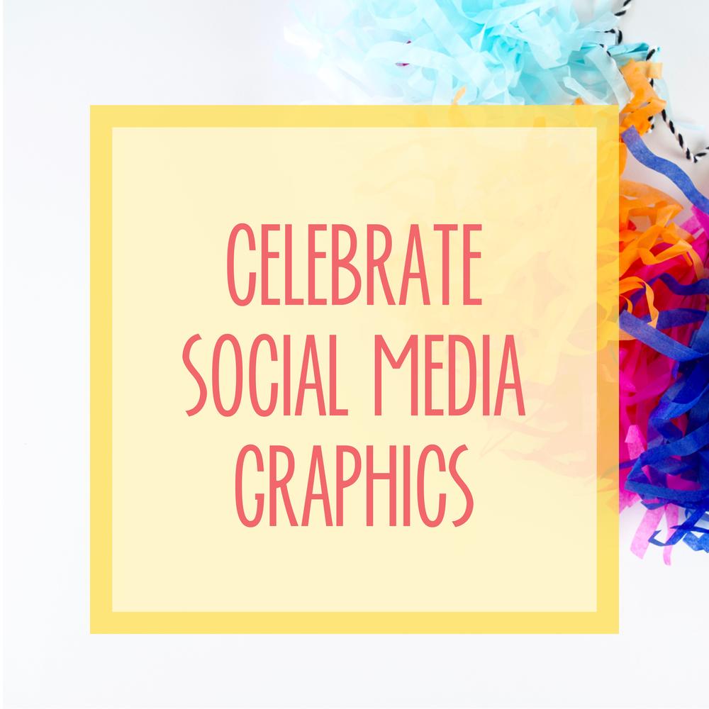 Bold & Pop : Bold Boss Resource Library Celebrate Social Media Graphics