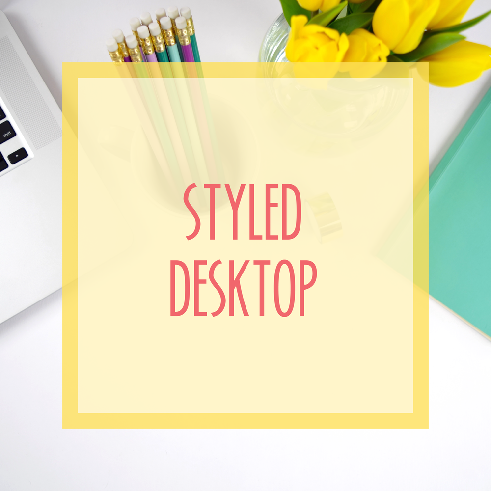 Bold & Pop :: Bold Boss School Resource Library : Styled Desktop Stock Photos