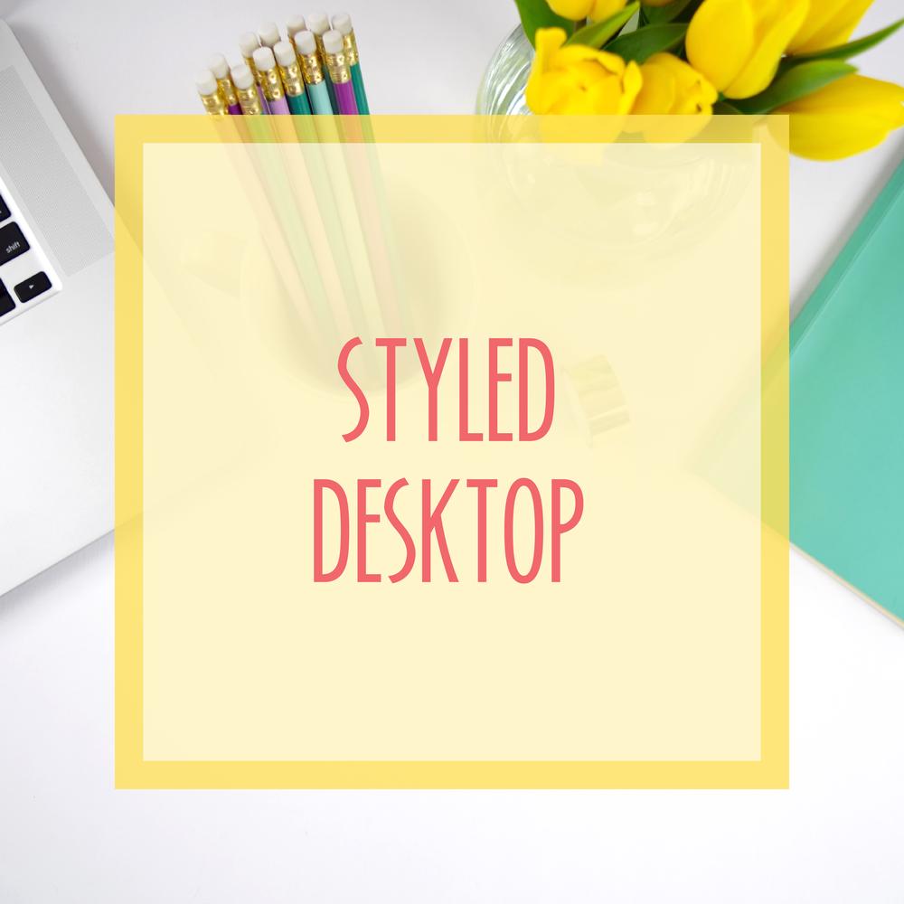 Bold & Pop :: Bold Boss School Resource Library : Styled Desktop Stock Photos