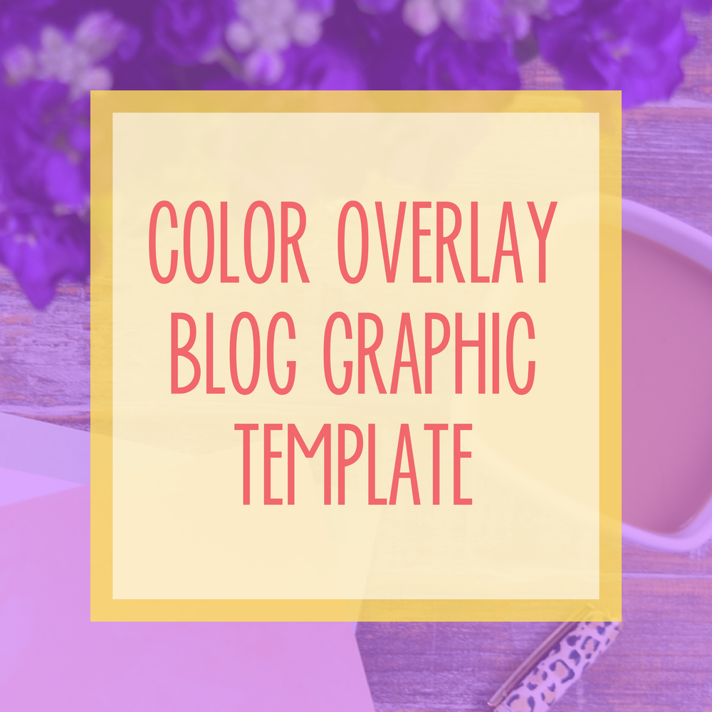 Bold & Pop : Bold Boss Resource Library Color Overlay Blog Template
