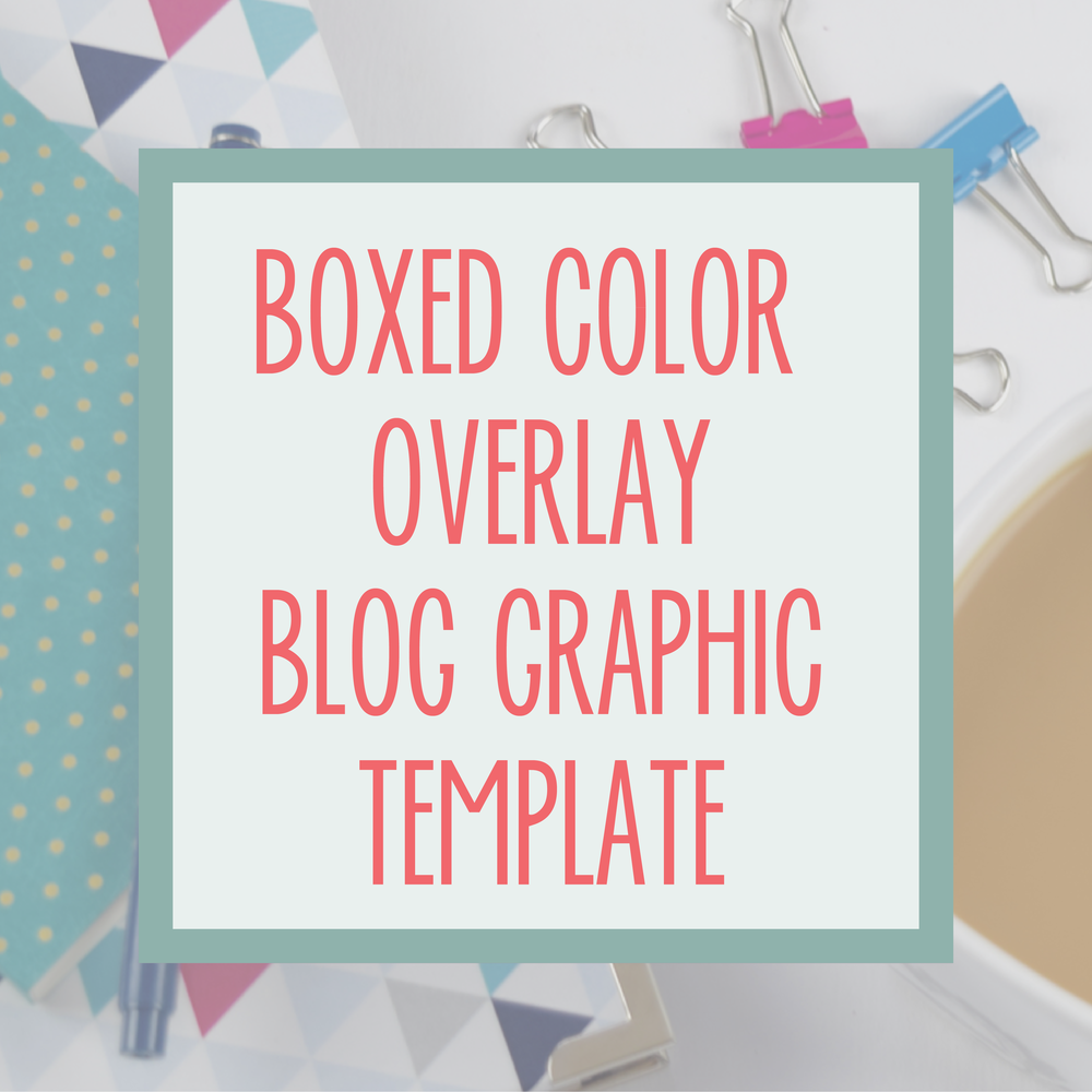 Bold & Pop : Bold Boss Resource Library Boxed Color Overlay Blog Template