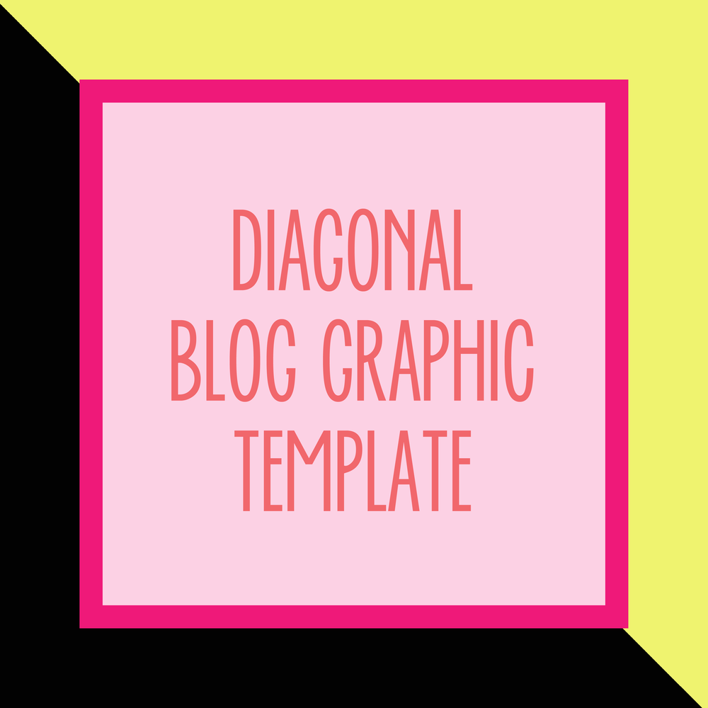 Bold & Pop : Bold Boss Resource Library Diagonal Blog Template